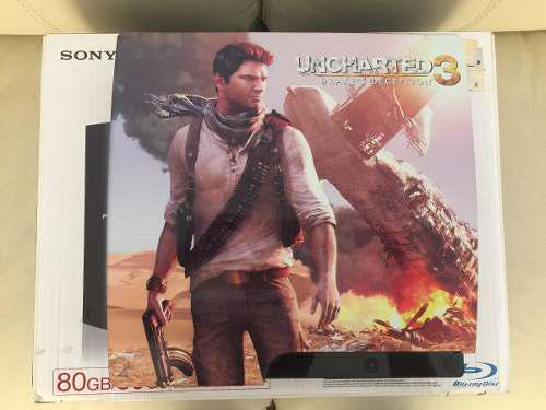 Consola Ps3 Playstation 3 Edicion Uncharted 3