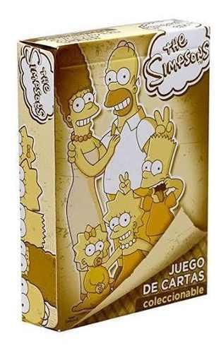 Juego De Cartas De Póker De Los Simpson