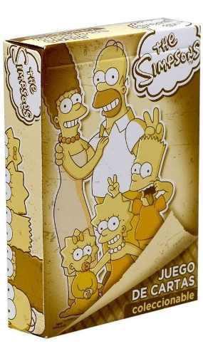 Juego De Cartas Poker Los Simpsons Baraja Nuevo + Envio
