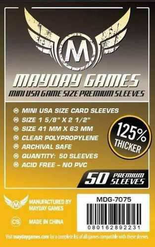 Mayday Micas Mini Usa Premium 41x63mm Pack 50