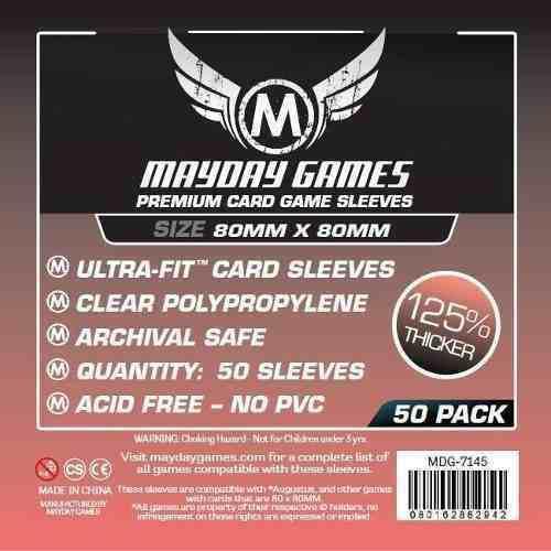 Mayday Micas Premium 80x80mm Pack 50