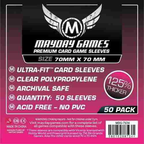 Mayday Micas Ultra-fit Premium 70x70mm Pack 50