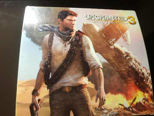Play Station 3 Edición Uncharted 3