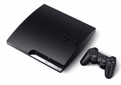 Playstation 3 Ps3 Slim 120 Gb Con 11 Juegos Usado