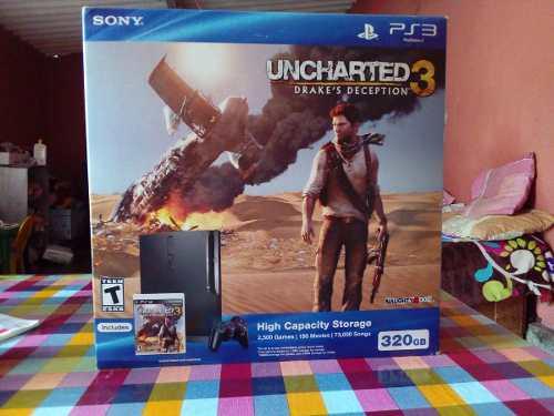 Playstation 3 Slim Uncharted 3: Drake's Deception Value Pack