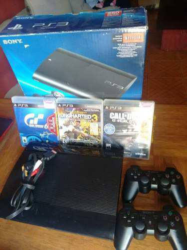 Ps3 De 250 Gb. En Excelente Estado