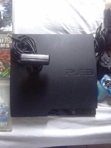 Ps3 Slim 160 Gb Negra
