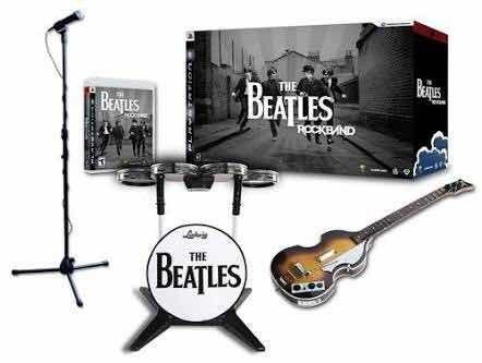 Rock Band The Beatles Edición Especial Para Ps3