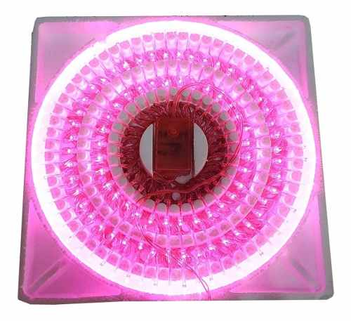 Serie Navideña 140 Luces Led Color Rosa Se140