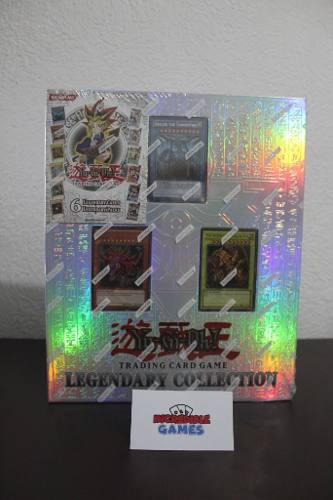 Yu-gi-oh! Legendary Collection (binder) Inglés + Regalo