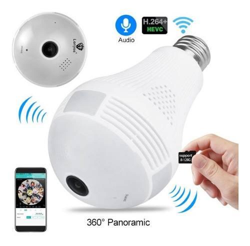 Camara Espia Oculta En Foco 360 Grados Wifi Vision Nocturna