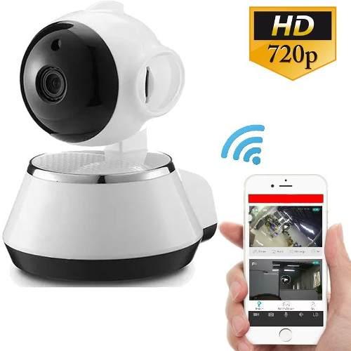 Camara Ip Wifi Vigilancia 360 Hd Espia Alarma App V380