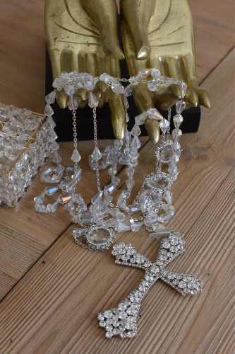 Lazo Matrimonial Boda Con Estuche Cristal Cortado 501p