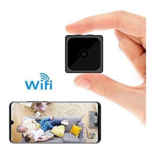 Mini Cámara Espía Wifi Inalámbrica Cámara Oculta Hd
