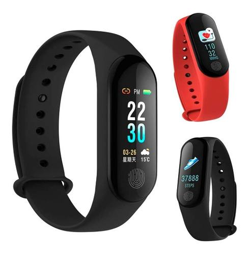 Reloj Deportivo Smart Band Pulsera Inteligente Fitness Ip67