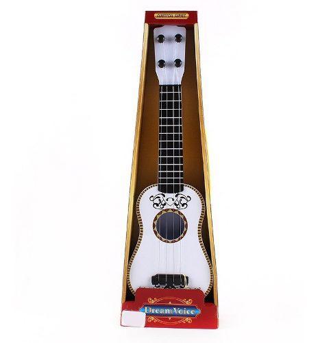1 Guitarra Cuerdas Coco Cuerdad Juguete Mayoreo Bolo Full