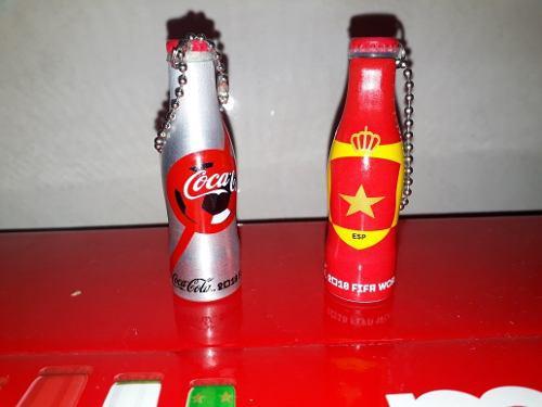 2 Botellitas Mini Mundialistas Coca Cola Mcdonald's
