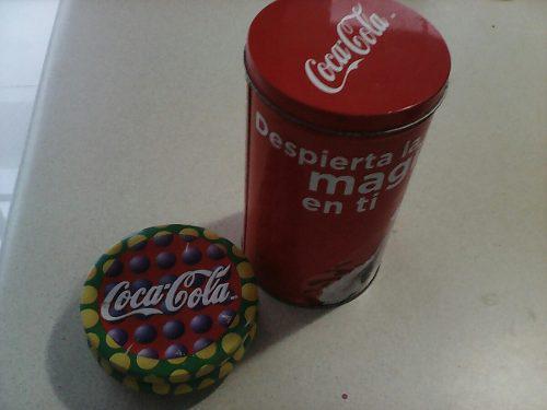 2 Latas De Coca Cola Diferentes Para Coleccionistas
