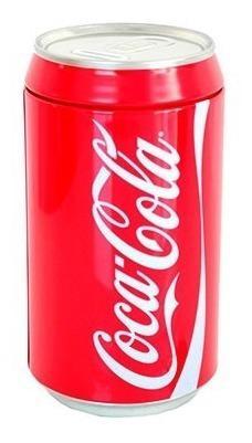 Alcancia De Lata De Cocacola De Coleccion 20 Cm