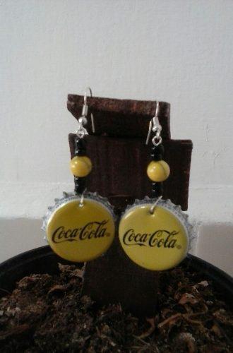 Aretes Corcholata Coca Cola