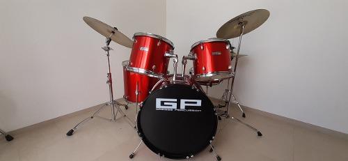 Batería Greggs Percussion Rubí