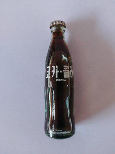 Botellita Miniatura Coca Cola Corea Antigua V.v.