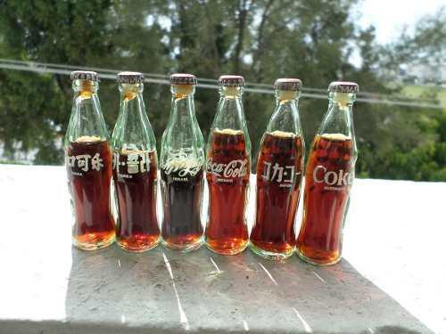 Botellitas Coca Cola 6 Direrentes