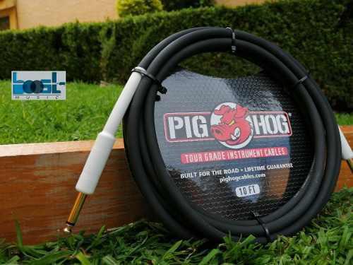 Cable Para Guitarra Electrica De 3 Metros Pig Hog
