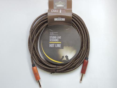 Cable Profesional Reforzado En Tela P/ Guitarra, Bajo