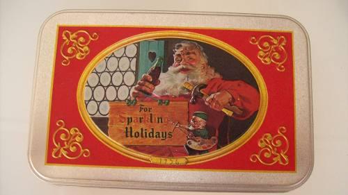 Caja De Naipes Coca Cola Santa Claus