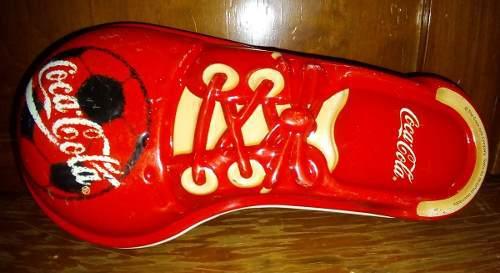 Cajita/figura De Zapato Coca Cola