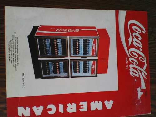 Catalogo De Enfriadores De Coca Cola Aemerian Para Coleccion