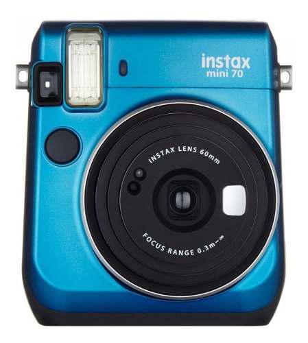 Cámara Instantánea Fujifilm Instax Mini 70 Azul Cobalto