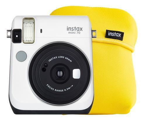 Cámara Instantánea Fujifilm Instax Mini 70 Blanco Más