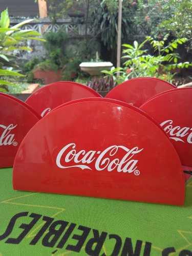 Coca Cola 5 Servilleteros Vintage,envio Gratis.