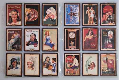 Coca Cola Cards. Colección Completa Serie 3 De 1994