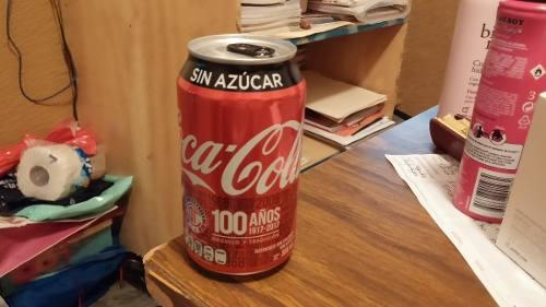 Coca Cola Conmemorativa 2017-1917. Lata Sin Abrir.