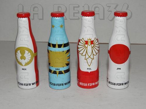 Coca Cola Lote 6 Botellitas Mini Mundialistas