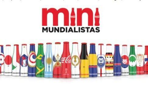 Colección De Botellitas Mini Mundialistas Coca Cola