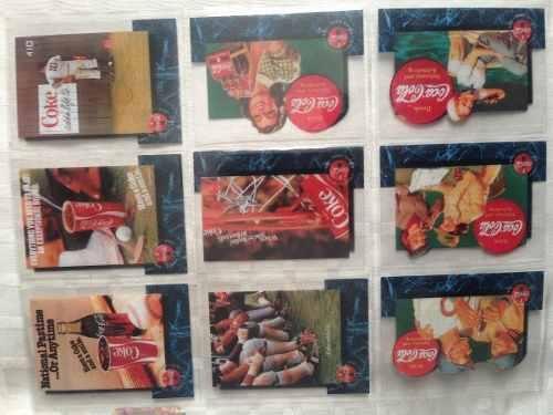 Coleccion Coca Cola Unica !!! Tarjetas Sprint 1995 Completa