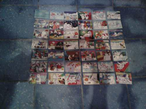 Coleccion De 42 Tarjetas De De Osos Polares De Coca Cola