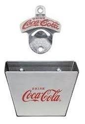 Combo Destapador Montable Con Cachador De Tapas Coca Cola