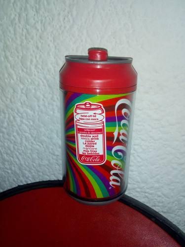 Cool Gear Termo En Forma De Lata 12oz - Coca Cola - Arcoiris