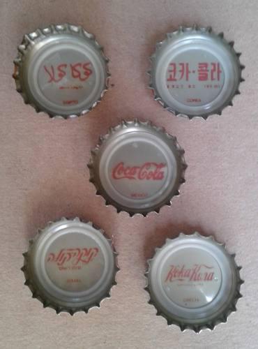Corcholatas De Coca Cola De Los 80´