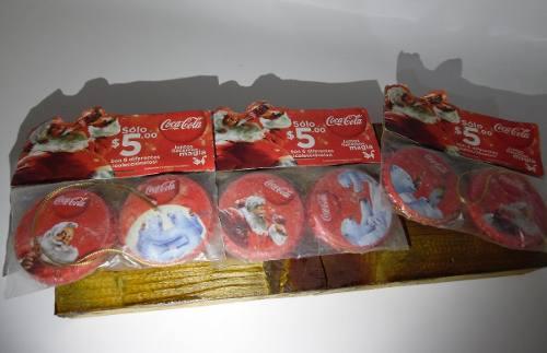 Corcholatas Navideñas Coca Cola Promoción Coca Cola