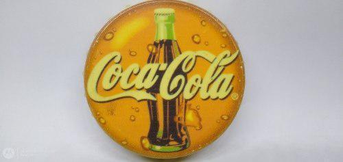 Destapador En Forma De Corcho Lata Con Logotipo De Coca Cola