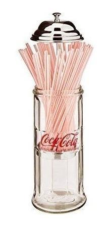 Dispensador De Popotes Coca-cola