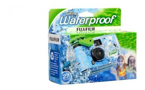 Fujifilm Camara Desechable Acuatica Quick Snap Waterproof