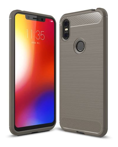 Funda Premium Tpu Fibra Carbono Motorola Moto One / P30 Play