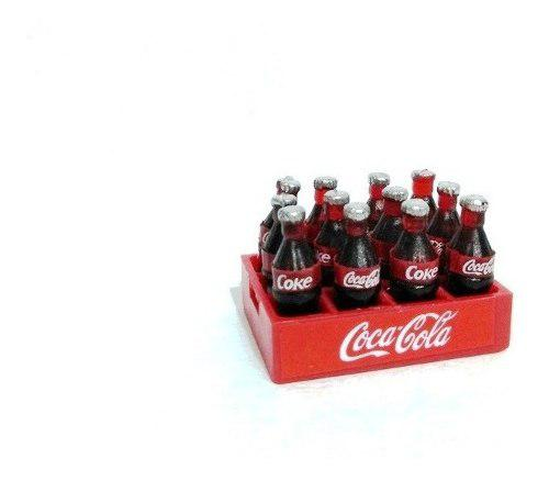 Genial Mini Rejita De 12 Coca Cola Miniatura